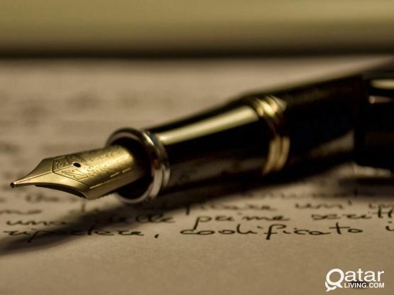 Need Assistance Writing a Research Paper or Essay?/هل تحتاج إلى مساعدة الكتابة في اللغة الإنجليزية ؟