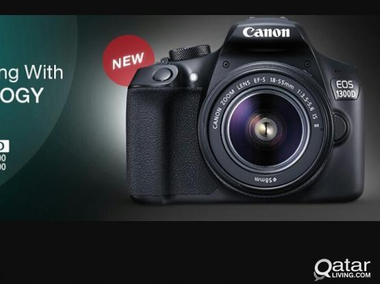 Canon 1300 +18-55 lens @1450