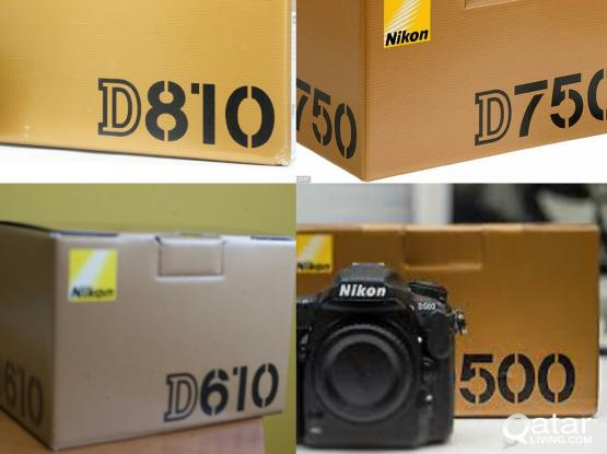 Nikon Brand new cameras