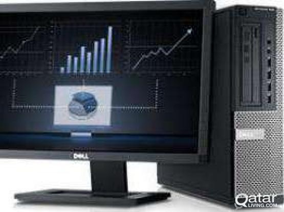 Dell core i5 Pc with 23* Lcd call. 66967658