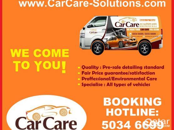 mobile detailing service Qatar