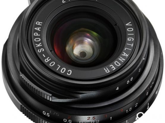 Voigtlander Color-Skopar 21mm f/4.0 Pancake Lens
