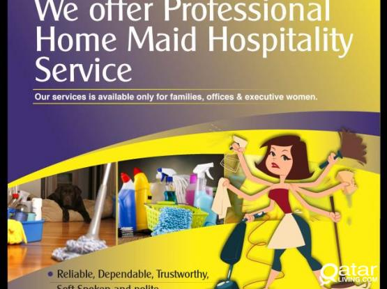 maids available on hourly basis
