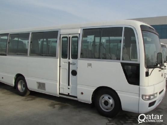 NISSAN CIVILIAN BUS FOR RENT