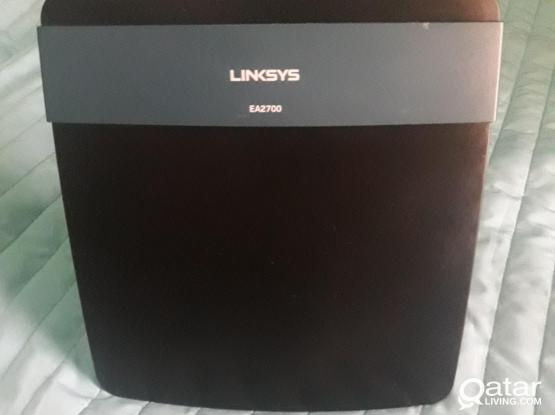 Linksys Wi-Fi Router and excess point