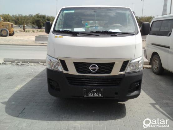 Nissan Urvan NV350 (Model: 2015) Available On Hire With Driver