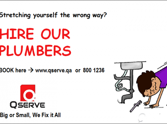 PLUMBING SERVICE IN QATAR - QSERVE HOME SERVICES