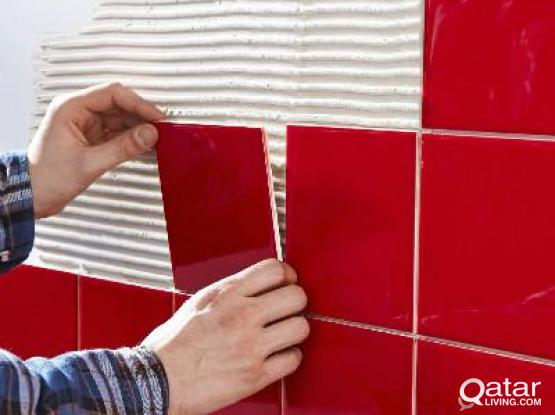 TILING SERVICES IN QATAR - QSERVE HOME SERVICES