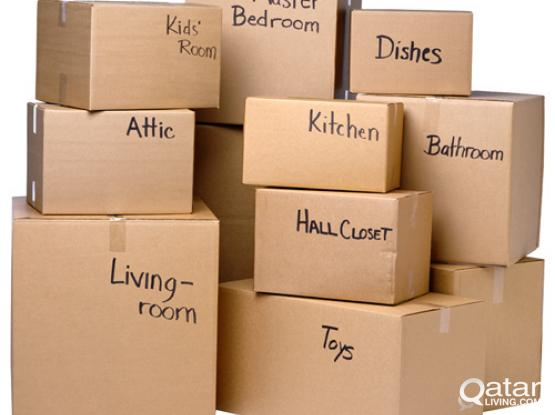 PACKING AND MOVING SERVICES IN QATAR - QSERVE HOME SERVICES