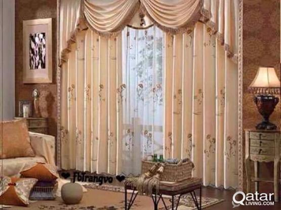 SUPPLY AND INSTALLATION OF CURTAIN,ALL KIND OF BLINDS,CARPET,CARPET TILE,VENYLE,CUBICLE CU