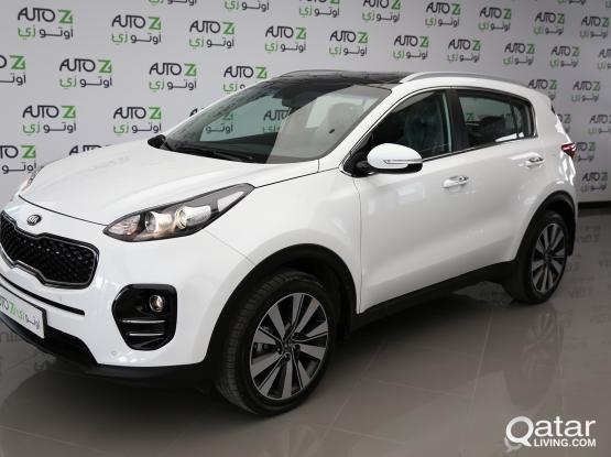 2016 KIA Sportage for rent