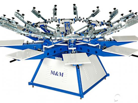 screen printing machine six color