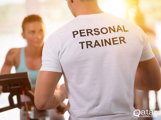 Home personal training.