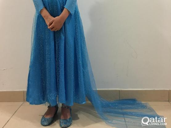 Disney Theam Children's Party Dresses