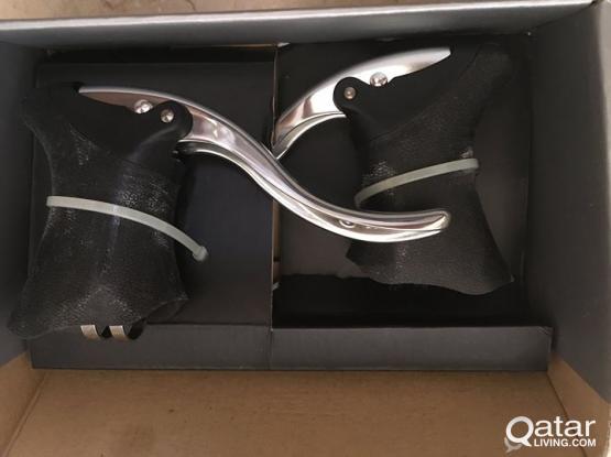 New Tektro RL520 Aero V Brake Levers - Silver