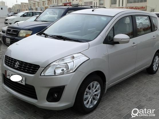 7even seater Suzuki Ertiga 2015 monthly 1950 Qrs