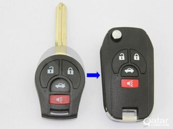 nissan new model Remote Flip Folding Key