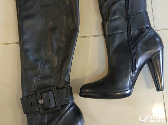 Real leather Boots for women! Beand new! Excellent price