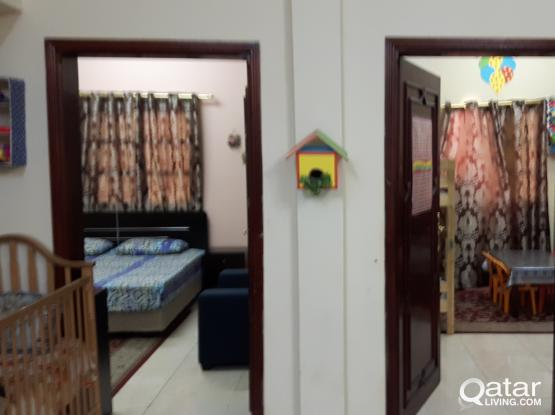 2BHK FLAT WITH 2 BATHROOMS FULLY FURNISHED IN ABU