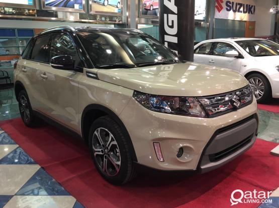 Suzuki vitara monthly rate 2550/Qrs