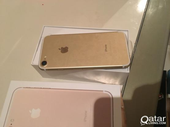 New 128 G iphone 7