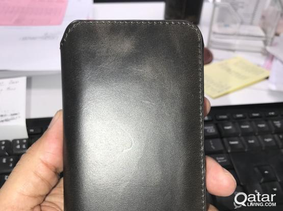 galaxy S8 + genuine leather cover