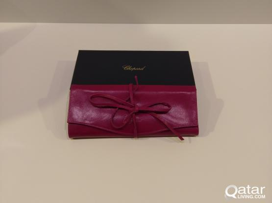 authentic Chopard jewellery wallet