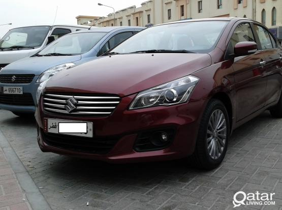 Suzuki ciaz  monthly rate 62 per day