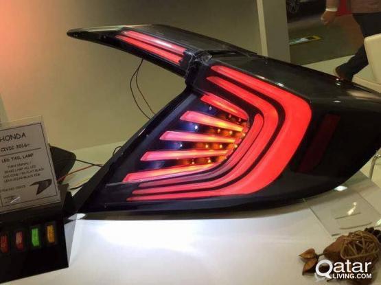 Rear Lights for Honda Civic 2016-2017