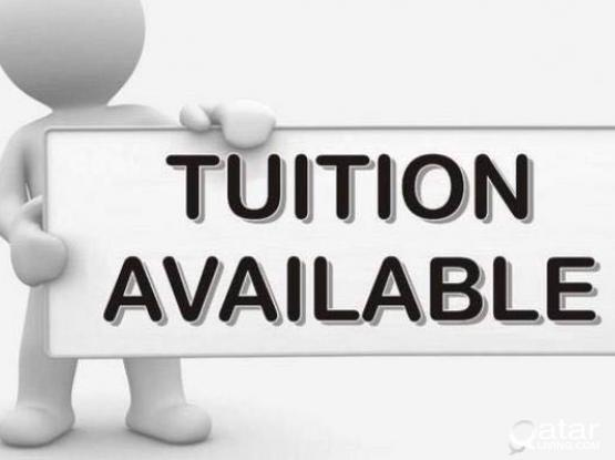 Tution Classes are available for K.G. I to 10th @ Umm Ghwalina for Indian, Pakistani, Bang