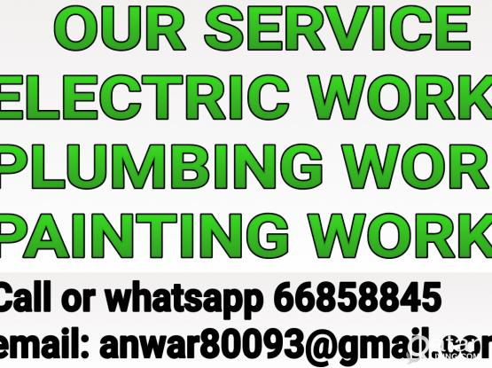 ELECTRICIAN PLUMBER ALL MAINTENANCE CALL 66858845