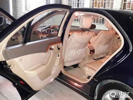 Mercidies Benz s500 model 2002