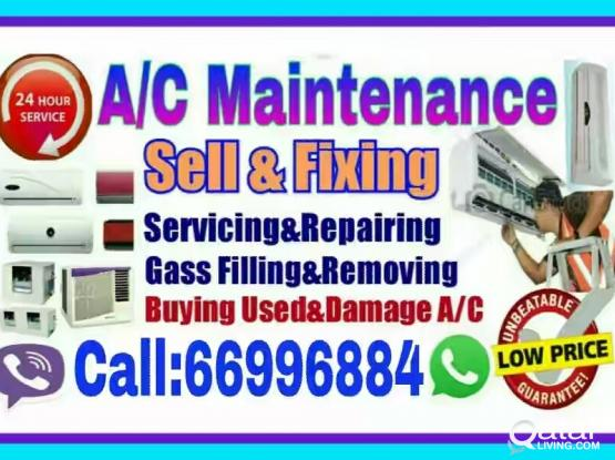 (Good price) A/C Sale and Fixing,Service,Repair Call:66996884