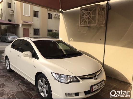 Honda Civic 2008 Full Options 1.8 L VTI (please Re
