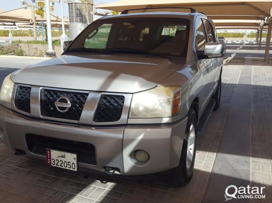 Nissan Armada V8 full option
