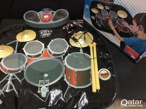 Drum Kit Playmat