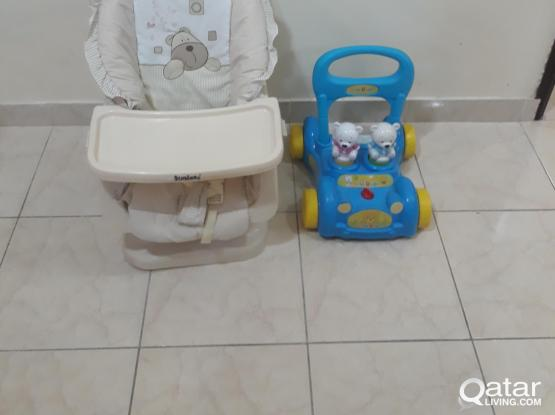 Baby Wakers + Movable Baby Chair