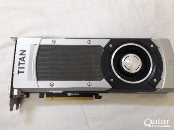 GFORCE GTX TITAN x 6GB FOR SALE