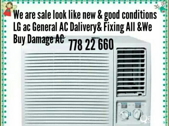 Used LG& General AC For Sale77822660