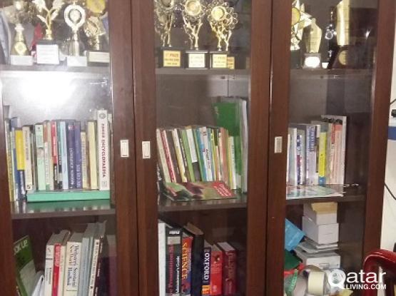 leaving sale-dressing table Showcase bookshelf