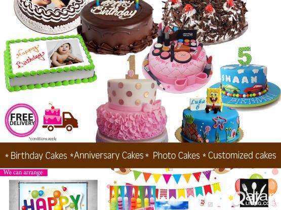 custom birthday cake Door delivery