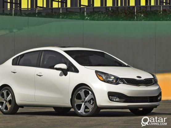 Kia Rio  monthly rate 50 QRS per day