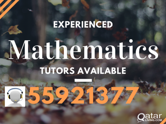 Call Experienced Maths Tutor @ 55921377 (CBSE Math