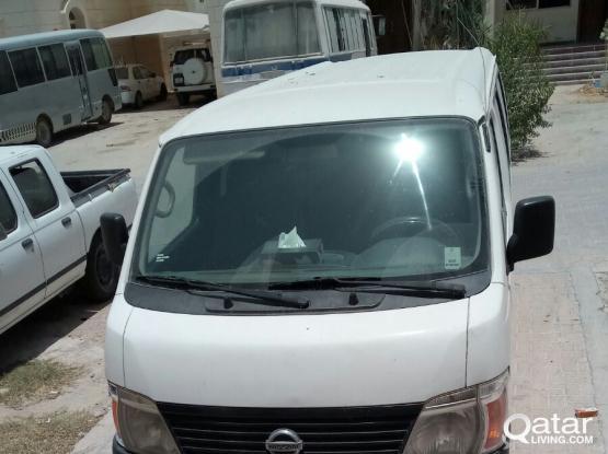 Nissan Urvan 14 seater for immediate sale