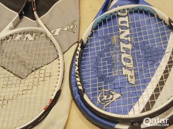 Dunlop tennis rackets (2)