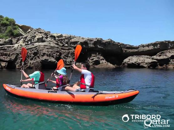 Inflatable new Kayak for 3 persons