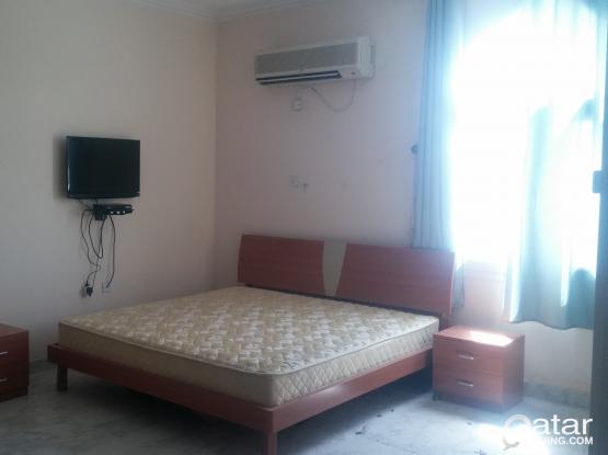 Brown Bedroom set, fridge, washing mashin and 32 inc TV