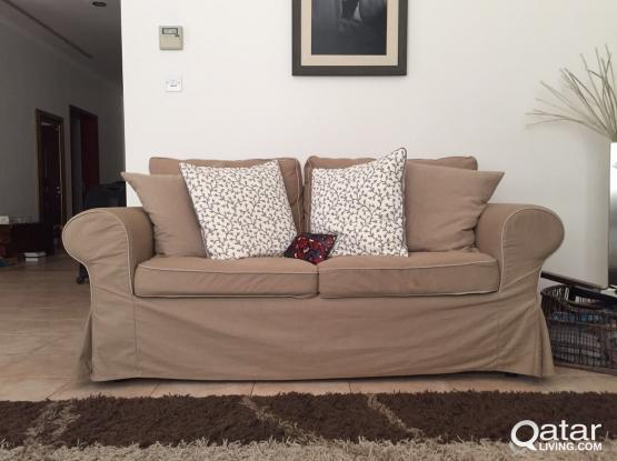 Sofa  Two-Seater  Ektorp IKEA   Qatar Living