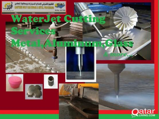 WATER JET SERVICES ( METAL,ALUMINIUM,GLASS AND ETC.