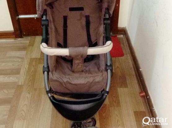 BabiesRus Stroller,Juniors Walkers,Chicoo car seat | Qatar Living
